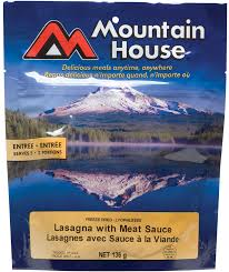 mountain house food and drink