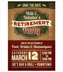 retirement party flyer template 9 download documents in pdf