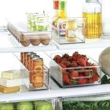 organization bins refrigerator storage bins refrigerator organization bins