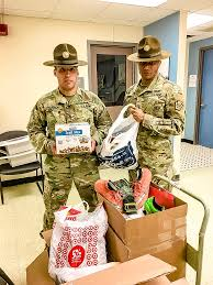 union and liberty uso care packages sent out to troops