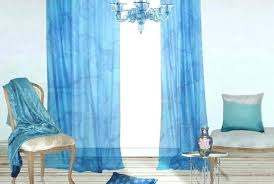 Sheer Navy Curtains Sheer Curtains 63 Inches Navy Blue Butterfly Migration Muarju