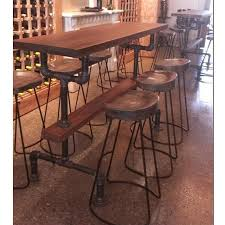 country old vintage wrought iron tables and chairs combination of