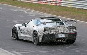 corvette wing corvette zr1 steps out with s most rear wing by