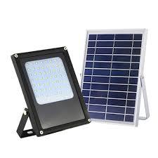 Led Landscape Flood Light Eleding Solar Powered 6 Watt Black Outdoor Integrated Led