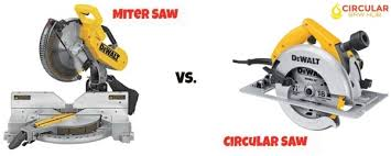 compound miter saw vs table saw what is the difference between a circular saw and a miter saw quora