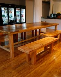beautiful reclaimed wood dining tables and benches bay area