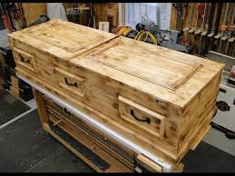 how to make a coffin how to build a casket diy pine box