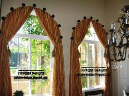 Arch Window Curtain Lofty Design Ideas Window Curtain Hooks A Zinc Coating Double