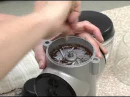 Kitchenaid Burr Coffee Grinder Review Proline Coffee Mill Burr Cleaning And Assembly Instructions Youtube