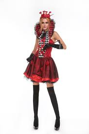 red queen costume promotion shop for promotional red