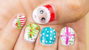 easy christmas nail art for short nails sonal sagaraya youtube