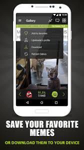 Meme Center Mobile App - memedroid memes gifs funny pics meme maker android apps on