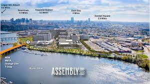 assembly row map somerville s assembly row expanding to more than 1 000 residences