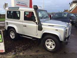 land rover defender 4 door interior used land rover defender 90 suv 2 4 tdi xs station wagon 3dr in