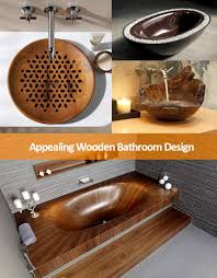 wood bathroom ideas great ideas for an appealing wooden bathroom design