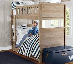 Charlie TwinoverTwin Bunk Bed Pottery Barn Kids - Vintage bunk beds