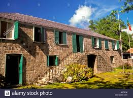 nevis alexander hamilton house birthplace charlestown island of