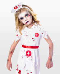 dress gruesome this halloween with this zombie nurse costume for