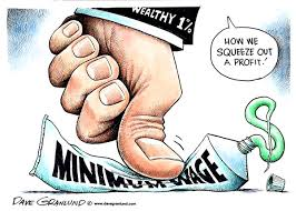 600 Minimum wage cartoons