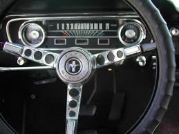 1965 mustang instrument cluster 1966 mustang springtime yellow