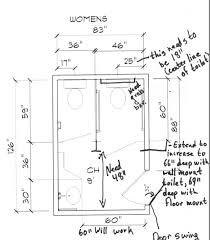 Ada Bathroom Requirements by Ada How To Convert A Standard Public Bathroom Into An Ada