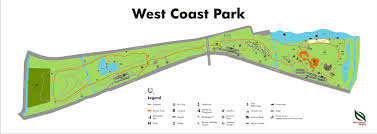 Map Of West Coast Map Of East Coast Park Map