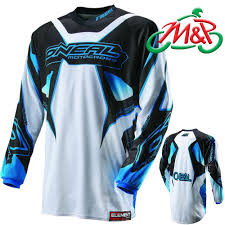 oneal motocross jersey 2013 oneal motocross mx element jersey top racewear white blue