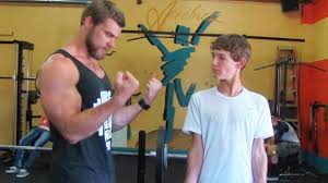 teen beginners bodybuilding training upper body chest arms