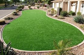 Artificial Grass Backyard by Setting Up An Artificial Lawn Yard Victoria Homes Design