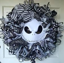 nightmare before christmas ribbon nightmare before christmas wreath skellington