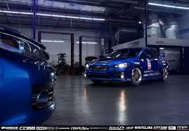 subaru wrx custom blue track function custom wheels work wonders with 2015 wrx sti