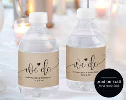 Label Template 21 Per Sheet Free Water Bottle Labels Etsy