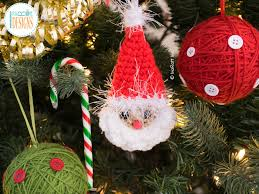 papa noel santa headband and ornament pdf crochet