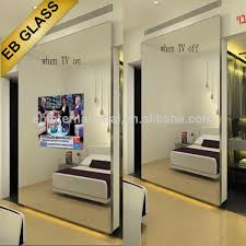 tv magic mirror bathroom tv mirror eb glass tv background glass