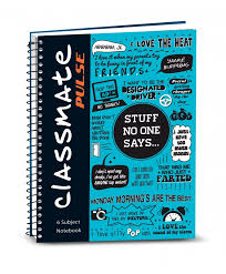 classmate stationery spiral notebook