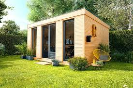 chalet bureau chalet exterieur jardin les 10 abris de jardin quon aime meubles