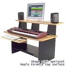Omnirax Presto 4 Studio Desk 8th Street Music Omnirax Presto Maple