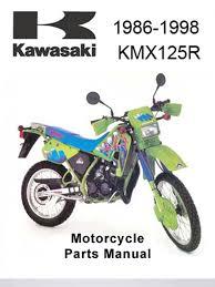 kawasaki kmx 125 a12 parts manual