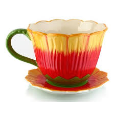 giant teacup planter wayfair ca
