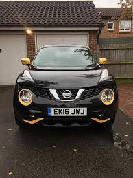 nissan juke finance liverpool 2016 nissan juke tekna 1 2 black and yellow in brentwood essex