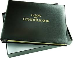 black guest book drawdreamz book of condolence leaf black funeral