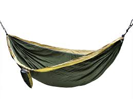 portable nylon camping hammock nest for double 118 x 78 inch