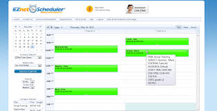 online appointment scheduling program eznet scheduler industry