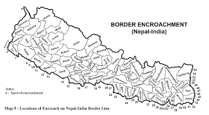 Nepal India Map by October 2007 Border Nepal Buddhi