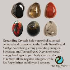 How To Remove Negative Energy Grounding Crystals Crystal Healing Stones Tourmalinated Quartz