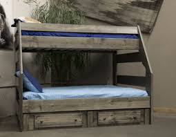Bayview High Sierra TwinFull Bunkbed Rustic Gray - Trendwood bunk beds
