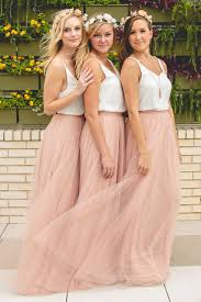 tulle skirt bridesmaid skylar skirt in tulle bridesmaid separates revelry