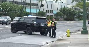 ala moana boulevard re opens following car crash honolulu