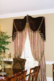 custom window treatments by why sew serious swag u0026 jabot