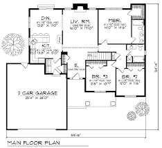 ranch house floor plan 72 best floorplans with bedrooms grouped together images on